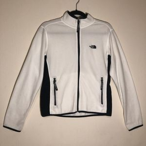The North Face White Fleece Sweater